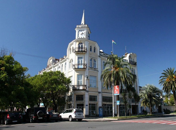 17197 Будинок з годинником (Будівля адміністрації міста): фото, опис