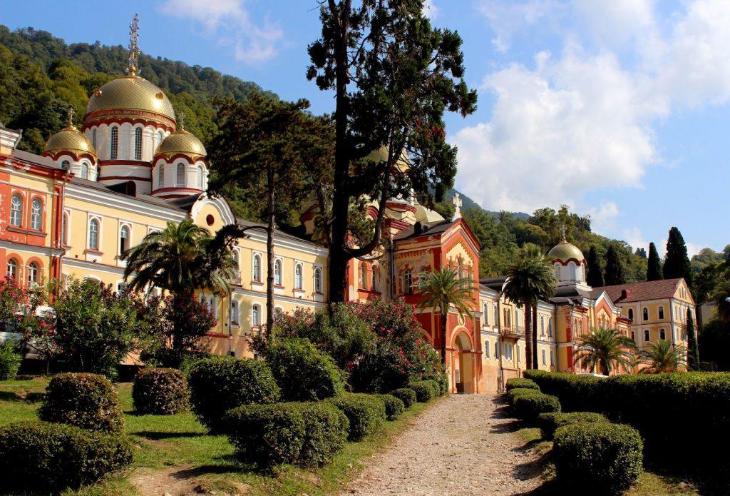 Фото і опис: Новоафонский монастир