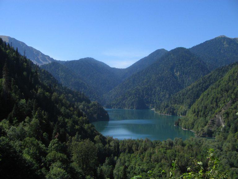 Фото і опис: Озеро Ріца