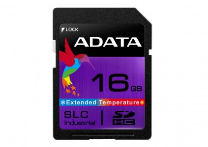 18505 ADATA представила SD-карти пам'яті SLC Industrial (ISDD361) для використання в екстремальних умовах