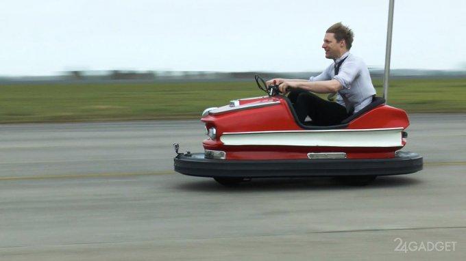 17580 Атракціонне автомобіль розігнали до 100 миль в годину (6 фото + відео)