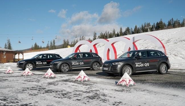 18141 Audi Q5. Зміщення акцентів. Audi Q5