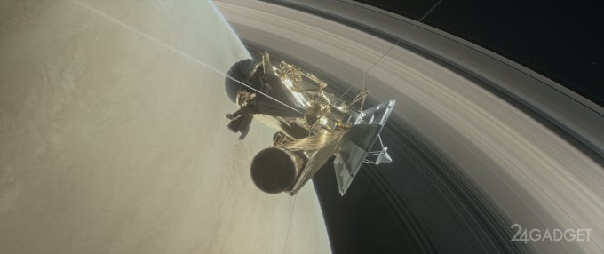 18768 «Кассіні» показав Сатурн з близької відстані (5 фото)