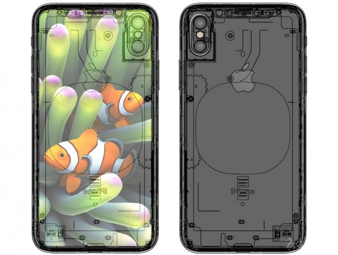 Оприлюднено ескіз внутрішньої будови iPhone 8 (5 фото)