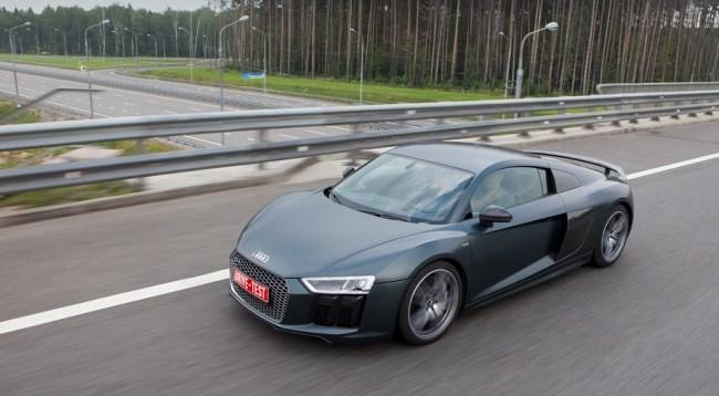 Оцінюємо прогрес купе. Audi R8 Coupe