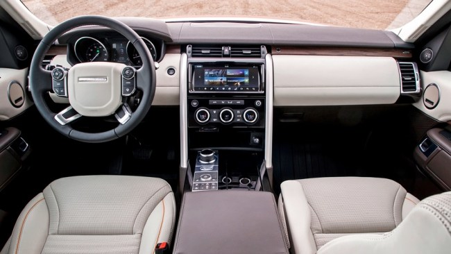 17682 Підсумовуємо здібності. Land Rover Discovery 5
