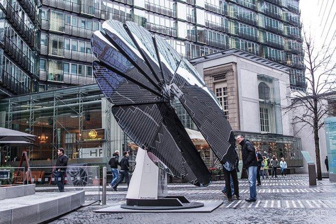 18317 Smartflower — сонячні панелі для міст і домогосподарств (5 фото + 2 відео)