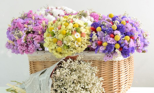 Як правильно засушити квіти?
