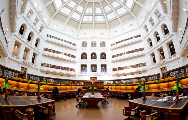 Фото і опис: Державна бібліотека Вікторії
