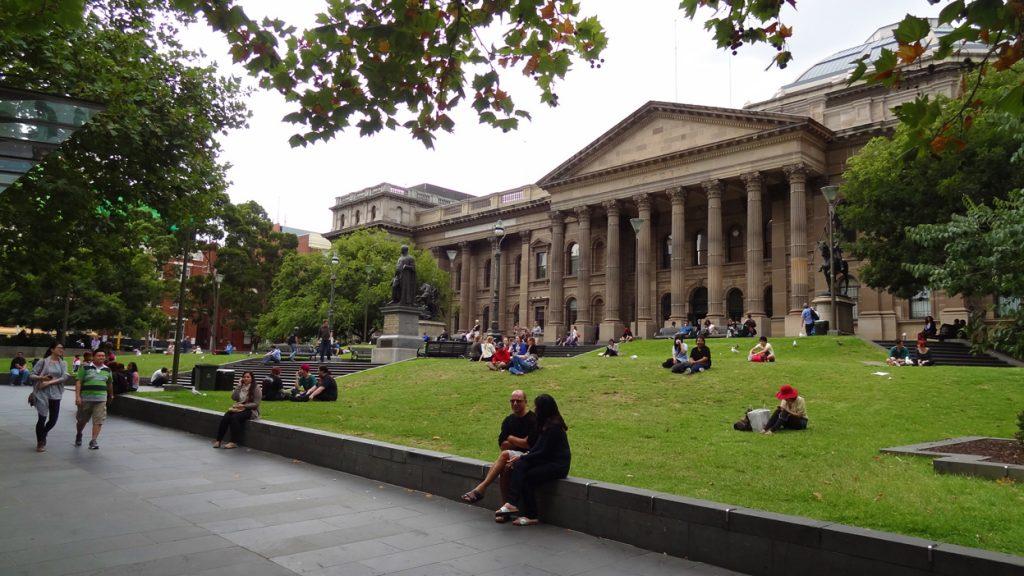 19143 Фото і опис: Державна бібліотека Вікторії