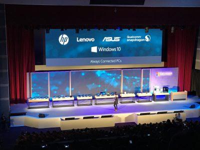 20103 ASUS, HP і Lenovo випустить ноутбуки на архітектурі ARM, що працюють під управлінням ОС Windows 10