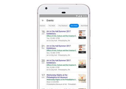 19398 Google додала місцеві заходи в результати пошуку для мобільних пристроїв