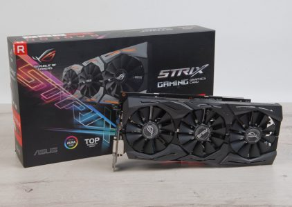 Огляд відеокарти ASUS ROG STRIX RX580 T8G GAMING
