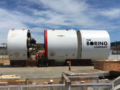 21137 Компанія Елона Маска проклала перший ділянка тунелю під Лос-Анджелесом