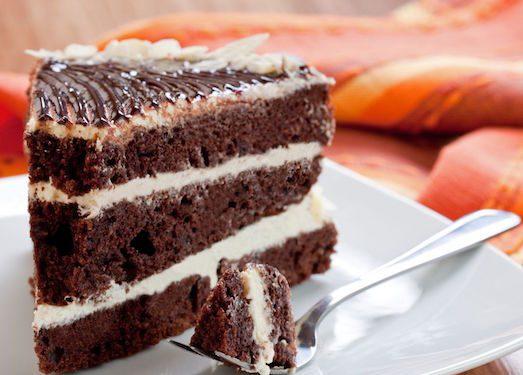 21554 Чорний принц — простий, але дуже смачний торт