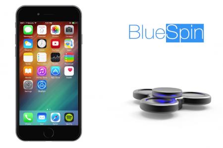 Перший в світі Bluetooth-спиннер BlueSpin з датчиками дотику і обертання, а також соціальними функціями готується вийти на Indiegogo за ціною $49