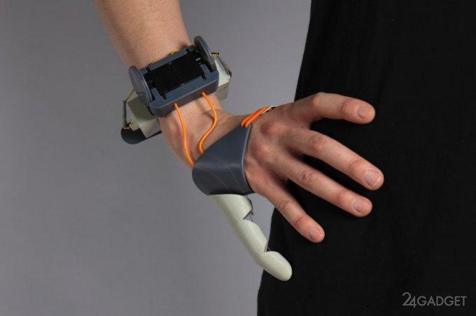 Робопалец, розширює людські можливості (12 фото + 2 відео)