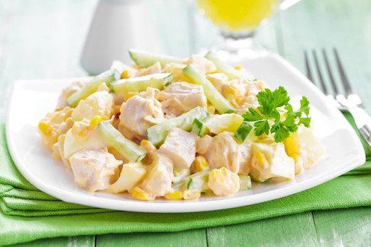 21380 Секрети приготування салатів з ананасом