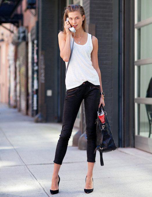 22231 Як модно носити джинси чорного кольору?