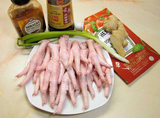 21757 Яскраві і незвичайні страви з курячих лапок