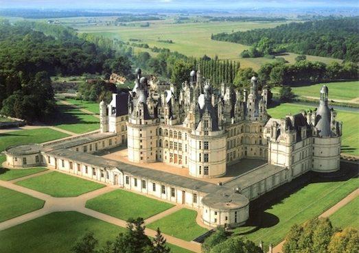22367 Найцікавіші замки у Франції