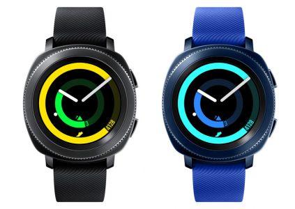 Samsung анонсувала розумні годинник Sport Gear, фітнес-трекер Gear Fit2 Pro і бездротові навушники Gear IconX 2018