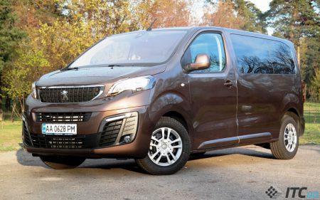22574 Вени Peugeot Traveller і Citroen SpaceTourer: бійся, VW Transporter?