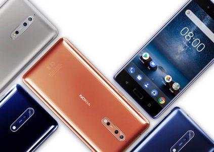 22924 Відбувся офіційний анонс смартфона Nokia 8 з подвійною камерою з оптикою Zeiss і чистим Android