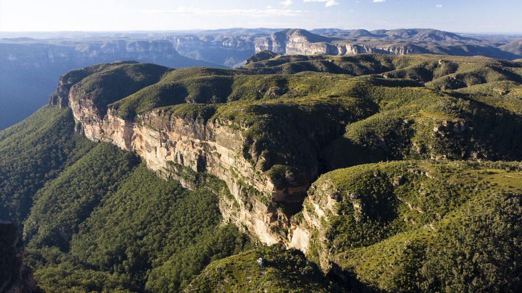 23495 Фото і опис: Національний парк «Блакитні Гори»