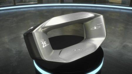 23611 «Когда руль умнее водителя»: Jaguar придумал концепт съемного руля Sayer со встроенным искусственным интеллектом