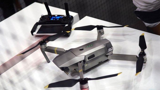 23607 На IFA 2017 компания DJI показала новые дроны (6 фото + 2 видео)