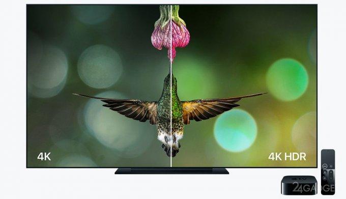 23896 Телеприставка Apple TV с поддержкой 4K и HDR (8 фото + 2 видео)