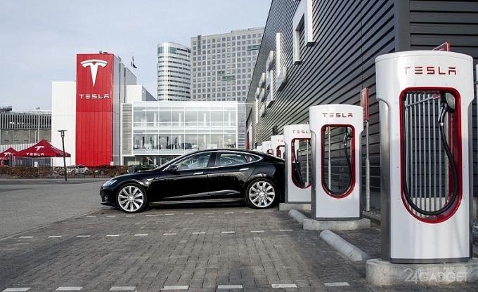 24356 Tesla запатентувала мобільну станцію для обслуговування електромобілів (6 фото)