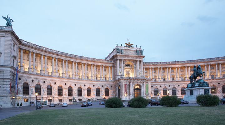 26215 Фото і опис: Палац Хофбург