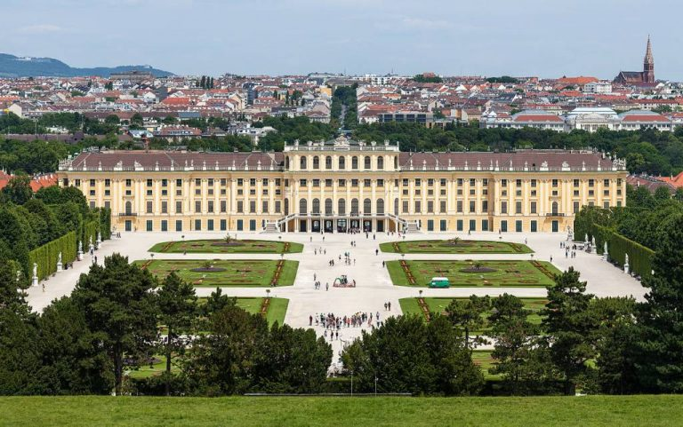 26246 Фото і опис: Палац Шенбрунн