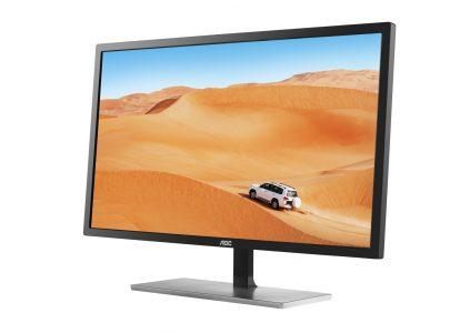 AOC Q3279VWF — 31,5-дюймовий монітор з MVA-матрицею, дозволом 1440p, часом відгуку 5 мс, підтримкою AMD FreeSync і цінником 8599 грн