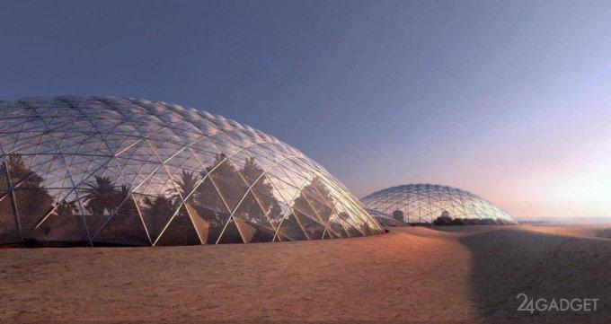 25749 Дубай побудує марсіанський місто в пустелі (4 фото)