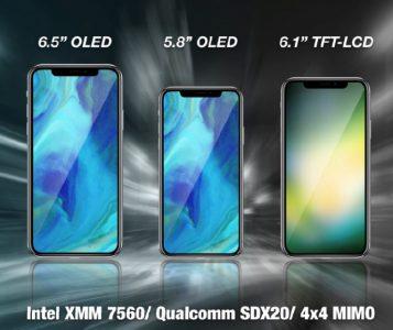 30434 KGI: Наступне покоління смартфонів iPhone буде підтримувати дві SIM-карти і більш високі швидкості LTE за рахунок нових модемів від Intel і Qualcomm