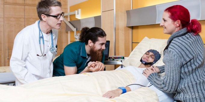 30503 MindBeagle допомагає паралізованим людям спілкуватися з оточуючими
