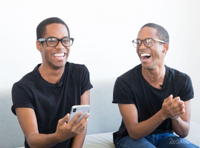 29362 Надійність Face ID iPhone X перевірили на близнюках (3 відео)