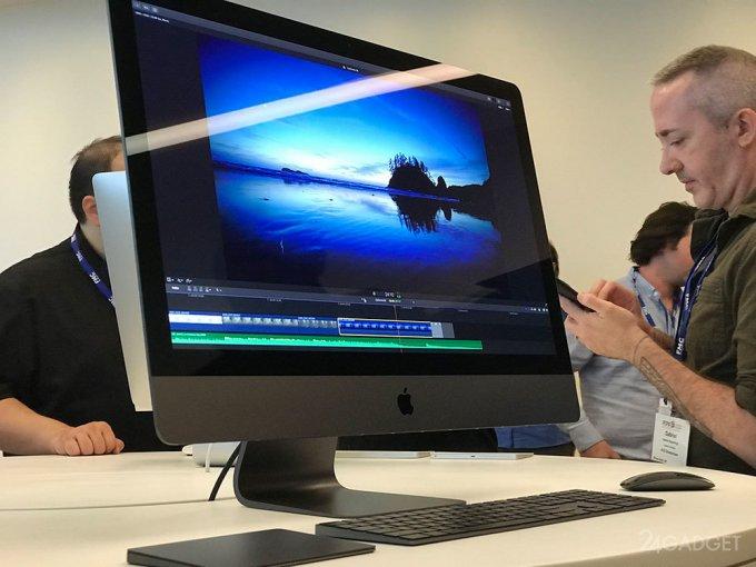 29217 Новий Apple iMac Pro показали в дії (8 фото)