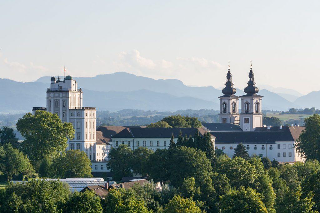32469 Фото і опис: Бенедіктінскій монастир Кремсмюнстер