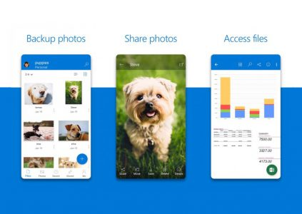 31518 Приложение OneDrive для Android получило новый дизайн и вкладку Me