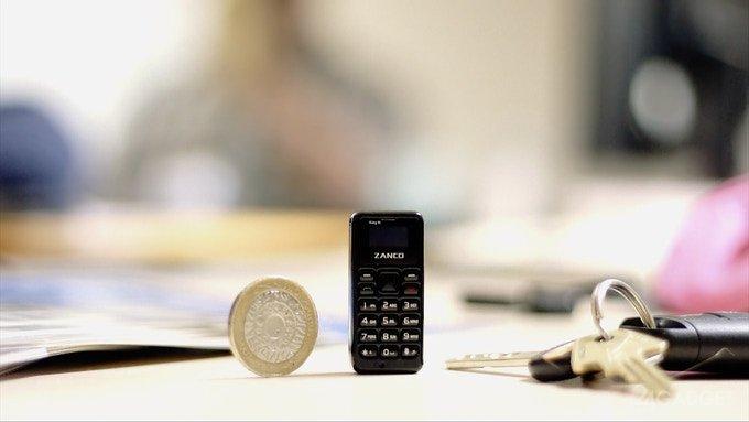 Zanco tiny t1 — найменший стільниковий телефон (11 фото + відео)