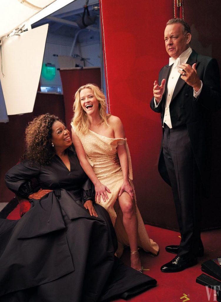 Конфуз на обкладинці Vanity Fair: три ноги у Різ Уізерспун і три руки у Опри