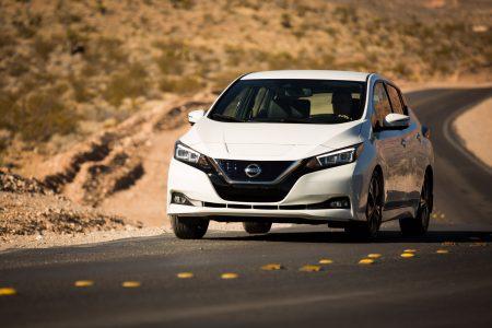 34615 Опубліковані офіційні рейтинги запасу ходу електромобіля Nissan Leaf 2018 по американському циклу EPA (243 км) і нового всесвітнього циклу WLTP (270 км)