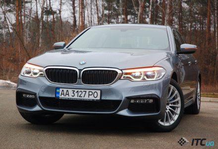 35568 Заряджає гібрид BMW 530e: самий інноваційний бізнес-седан?