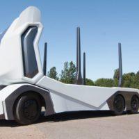 39067 Einride T-log: автономнй электрогрузовик для перевезення колод (6 фото + відео)
