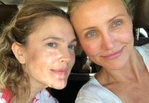 Красуні! Фото 43-річної Дрю Беррімор і 45-річної Камерон Діас без макіяжу підірвало мережа