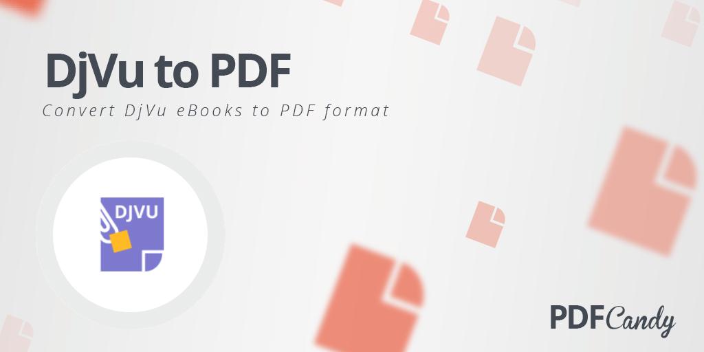 43043 Як конвертувати DjVu в PDF